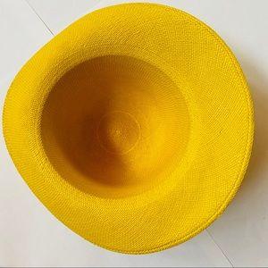Vintage Accessories - VTG | Yellow Sun Hat